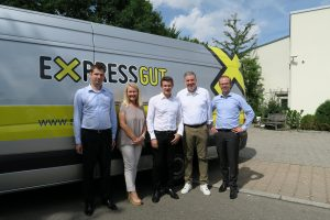 Mr Higelin CEO of FLASH with Schwerdfeger top executives