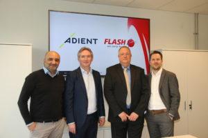 adient flash supply chain award