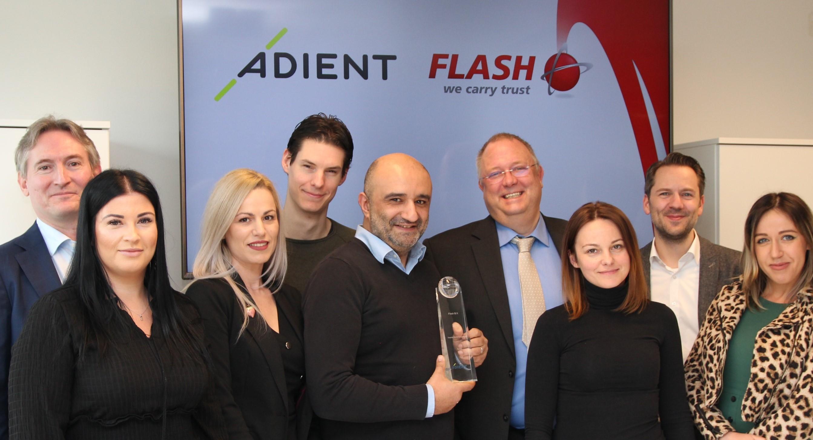 falsh adient supply chain award